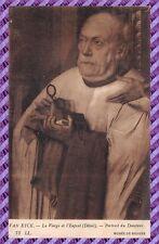 Carte Postale - VAN EYCK - La vierge et l'enfant - Portrait du Donateur