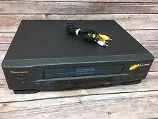 Panasonic VCR PV-4551 Player Recorder Hi Fi Omnivision /w RCA Cable - FREE SHIP!