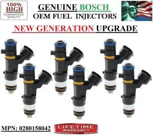 NEW 6 Fuel Injectors UPGRADE *NEW GEN* Bosch for Infiniti & Nissan 3.5L V6