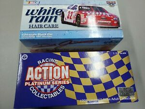 1998 Action Dale Jarrett #32 White Rain Hair Care 1998 Taurus 1:24  Boxed