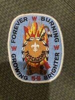 Mint Older OA Section 5B Conclave Boy Scout Patch Tuscazoar
