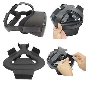 Soft Leather Head Strap Pad Headset Cushion for Oculus Quest / Rifts VR Glasses