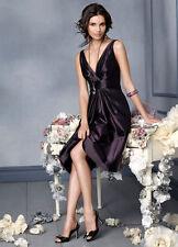 Jim Hjelm Occasions Dress JLM Bridesmaid Social Evening 5918 prom purple 4 S NEW