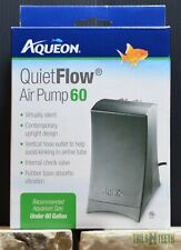 QuietFlow Air Pump 60 for Aquariums Under 60 US Gallons - Virtually Silent