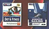 Diet & Fitness / Interactive Sailing PC-CD for Windows - NEW CD in SLEEVE