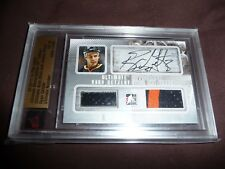 10-11 ITG Ultimate Memorabilia Ryan Getzlaf AUTO STICK JERSEY 15/19 1/1 His JSY#