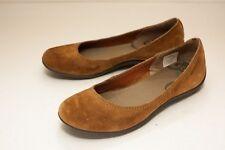 Merrell Size 8 Brown Suede Ballet Flats