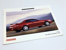 1997 Honda Prelude & Del Sol Brochure