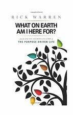 What on Earth Am I Here For? Purpose Driven Life(Booklet) Free Shipping