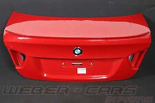 org BMW M3 E90 Limo Heckklappe Kofferraum Spoiler Melbournerot-Met rear flap