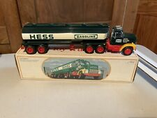Vintage Hess Fuel Oils Model Toy Truck Bank In Box Collectible Toy Decor Display