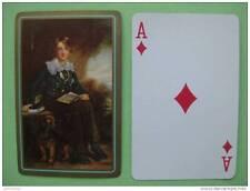 carte à jouer ancienne de collection (USA1940) : George BYNG