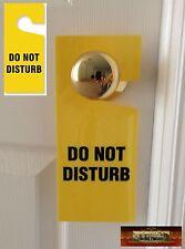 "M00344a MOREZMORE 1 Plastic ""Do Not Disturb"" Sign Door Hanger Hotel Style T20"