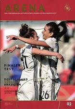 Frauen-Länderspiel 04.07.2017 Deutschland - Brasilien, DFB-Arena 2/2017