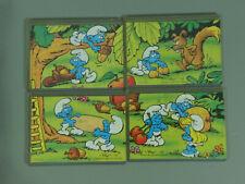 Puzzle: Smurfs (1. Series) 1996 Eu - Super Puzzle + all 4 Bpz