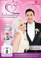 3 DVDs * DANIELA KATZENBERGER - MIT LUCAS IM HOCHTZEITSFIEBER # NEU OVP &