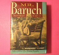 Vintage Mr. Baruch by Margaret L. Coit 1957 First Edition 1st Print Hardcover DJ