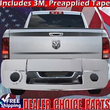 2010-2018 DODGE RAM 2500 3500 Chrome Tailgate Handle Cover With Cam WithKeyHole