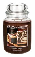 Village Candle Large Jar 26oz Double Wick Scented  - Official Village Retailer