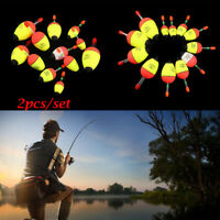 Quality Luminous Bobber Hot Light Stick Eva Foam Fishing Night Float Ball Boia