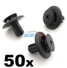 50 x 7mm Plastik Rand Klemmen für Subaru Radlauf Futter & Motor BAY Abdeckungen