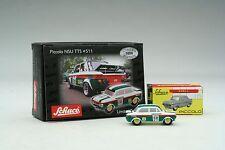 Schuco / Rally Racing Collection / Fiat Abarth, Ford Escort, Opel Ascona, NSU