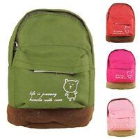Women Portable Pattern Zipper Carabiner Coin Purse Backpack Storage Bag Little