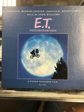 Michael Jackson John Williams E.T. LP USA 1982 MCA-70000 Book Record Vinyl