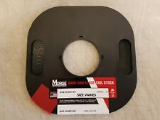 100' x 1/2 x 6R Carbon Flex Back Bandsaw Coil Stock - Usa Mk Morse - New!