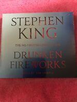 Drunken Fireworks by Stephen King ( CD Audio - 2015 - 2 Discs ) NEW SEALED