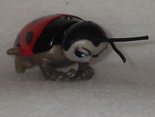 "Bugs Life beetle Lady Bug 3"" wind up toy movie figure McDonalds Disney Pixar"