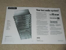 NAD 1989 System Ad, Entire 1989 Line, 2600,2400,2100,7600,7400,7100,1700,1300