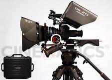 DSLR rig Follow Focus +Matte Box+Baseplate+C shape+monitor+shoudler pad