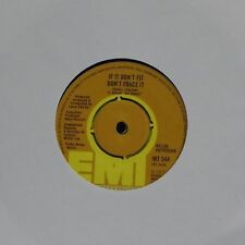 "KELLEE PATTERSON 'IF IT DON'T FIT DON'T FORCE IT' UK 7"" SINGLE"