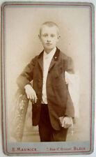 CDV PHOTO COMMUNIANT CATHOLIQUE  E. MAURICE BLOIS  c17