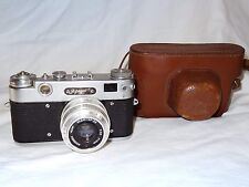 Vintage USSR camera ZORKI 5 + Lens INDUSTAR 50 lens * 1958