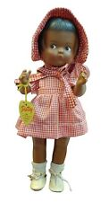 """Effanbee Patsy Doll 14"""" tall Red and White Check Outfit"""