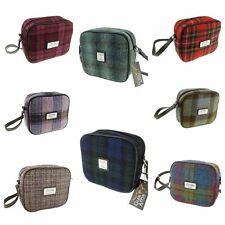 Authentic Harris Tweed Ladies Almond Square Mini Bag LB1210