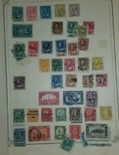 George V to QE on Album Pages, Fall Cleaning Lot, Some Nice Material, 25+ Pages