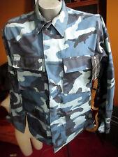 NWT Vtg 1996 PROPPER MEN'S ARMY COMBAT UNIFORM BLUE COAT   SMALL LONG 1996