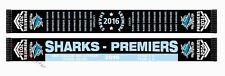 Cronulla Sharks 2016 NRL PREMIERS Scarf BNWT **SPECIAL EDITION IN STOCK***