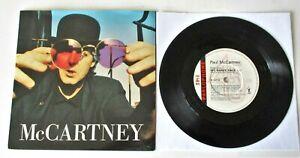 "Paul McCartney - My Brave Face UK 1989 Parlophone 7"" Single P/S"