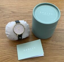 Radley Ladies Watch Leather Strap New In Box ** Needs A New Battery **