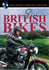 Great British Bikes (New DVD) Motocycles BSA Norton AJS Vincent Ariel Velocette