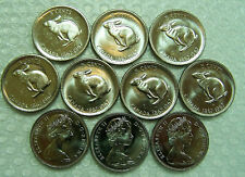 CANADA 5 CENTS 1967 Uncirculated (B.U.) ***10 pcs lot***