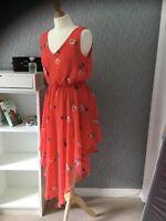 Apricot size 12 assymetrical hem Sleeveless dress