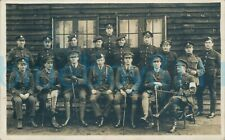 More details for ww1 army pay corps sergeant named back rest mixed regiments photo ncos officers