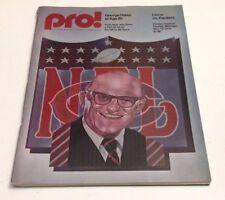 1975 Pro Football Program Lions vs Packers at Pontiac Stadium