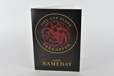 Happy Nameday Card! House Targaryen, Game of Thrones, Daenerys, Khaleesi tyrion