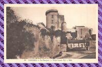 CPA 37 - LOCHES  le donjon - Tour louis XI
